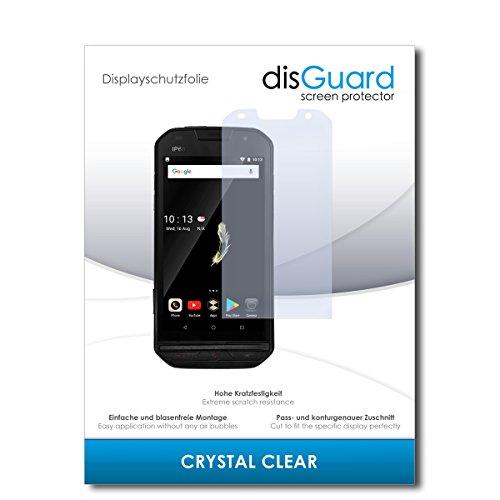 disGuard® Bildschirmschutzfolie [Crystal Clear] kompatibel mit Doogee S30 [2 Stück] Kristallklar, Transparent, Unsichtbar, Extrem Kratzfest, Anti-Fingerabdruck - Panzerglas Folie, Schutzfolie