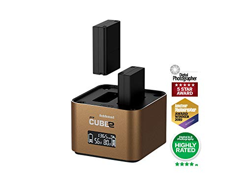 Hahnel PROCUBE2 Professional Twin Battery Charger for Olympus DSLR Cameras