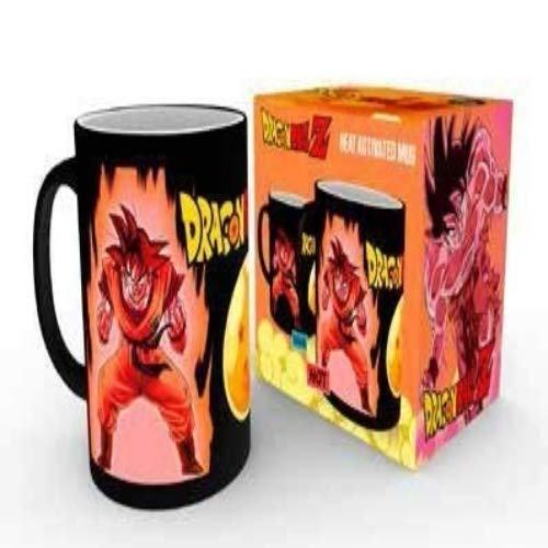 Dragon Ball Z Super Saiyan - Heat Change Mug Tasse Standard