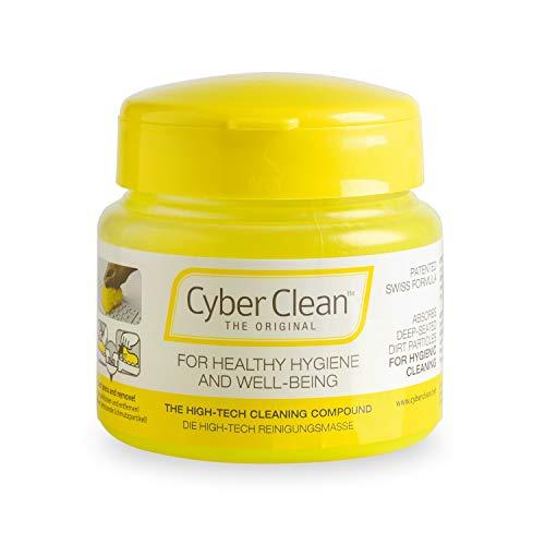 Cyber Clean The Original Reinigungsmasse für Hygiene und Wohlbefinden im 145g Pop-Up Cup zum Reinigen von Tastaturen, Mobiltelefonen und Anderen Geräten