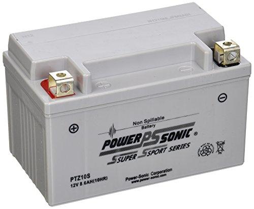 Power-Sonic (PTZ10S) Sealed Maintenance Free Powersport Battery