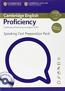 Speaking Test Preparation Pack for Cambridge English Proficiency for Updated Exam with DVD by University of Cambridge Engl...