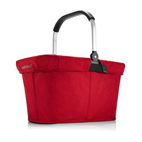reisenthel - EXKLUSIVES ANGEBOT! carrybag + GRATIS passendes cover ! Einkaufskorb Einkaufstasche (red)
