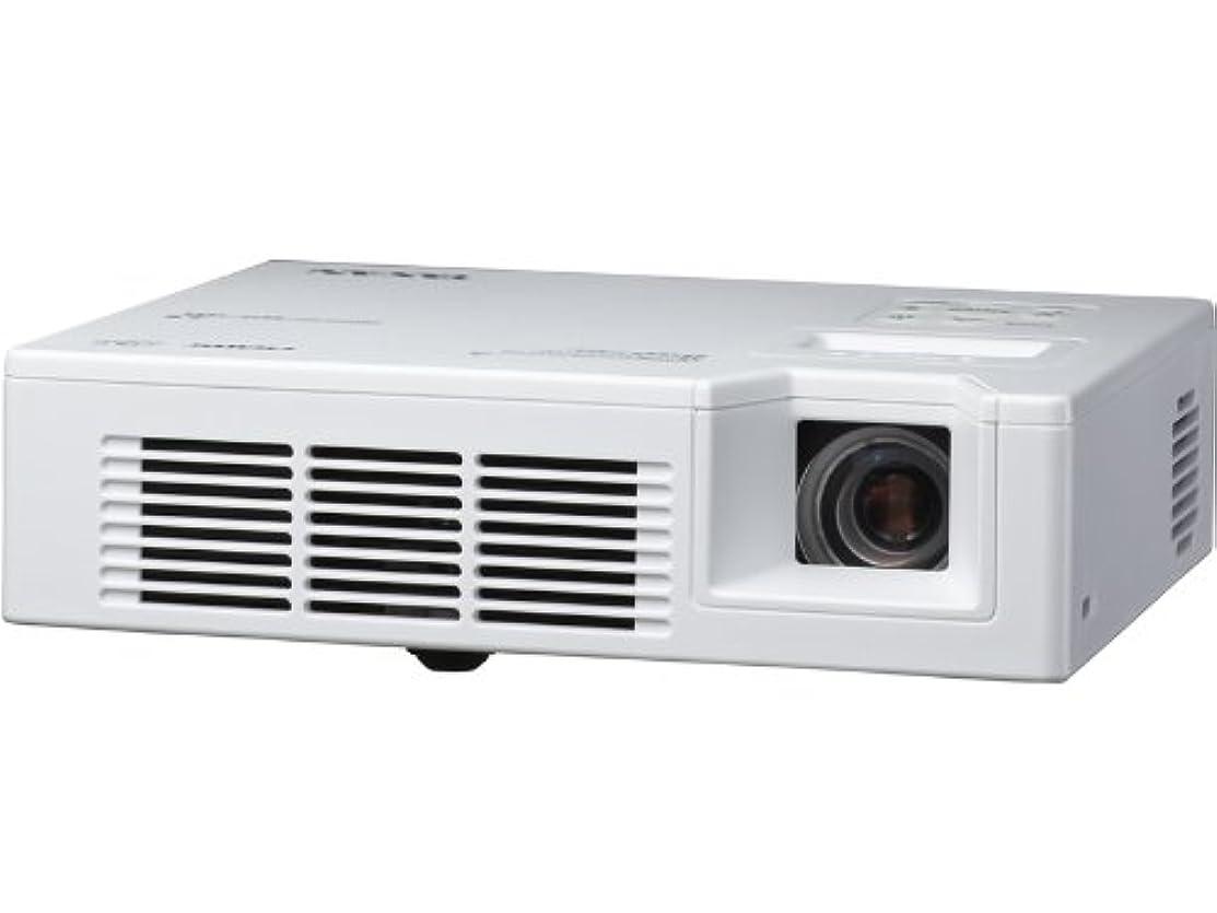 レインコートパーティション永久にTAXAN 小型LEDプロジェクター 800lm WXGA 800g DLP方式 KG-PL081W