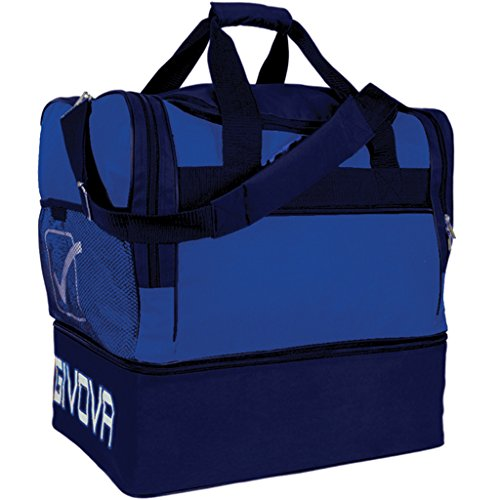 Givova B0010, Borsa Big 10 Unisex, Azzurro/Blu, Taglia Unica