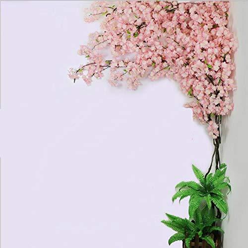 XMQW Cereza Artificial Árboles en Flor - Árbol de Flor - Rosa Claro - para Interior/Exterior/Fiesta/Restaurante/Centro Comercial Planta Artificial