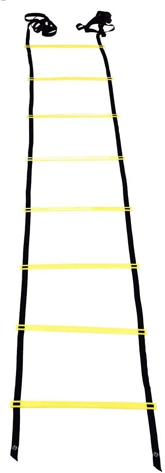 Vbestlife Training Ladder Adjustable Flat Brand Cheap Sale Venue Plastic to Rungs Time sale Easy