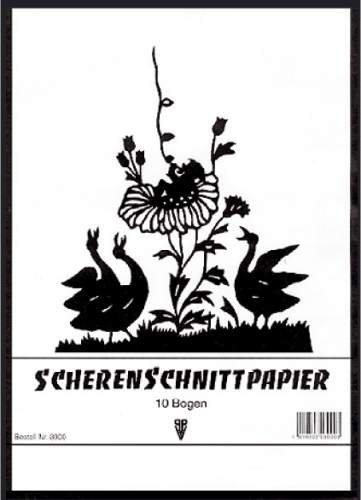 Scherenschnittpapier Heft A3