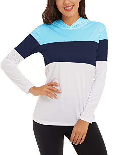 UV-Schutz Shirt Damen Langarm Tops...