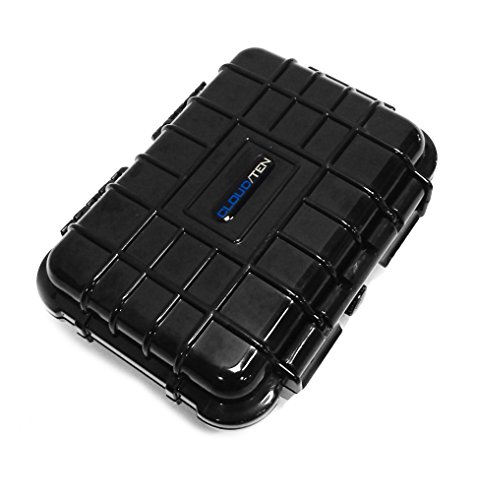 Price comparison product image CloudTen Compact Odor Resistant Carry Case Compatible with Boundless,  Tera Boundless,  FlowerMate v5.0s Pro Mini Arizer Argo and More with Accessories,  Includes Case Only