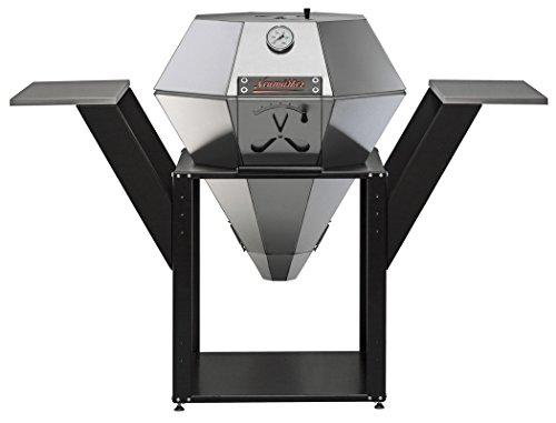 Neumärker - Diamant Grill Barbecue compleet met fitting diamant vleugel rollenset outdoor hitte - Deflector