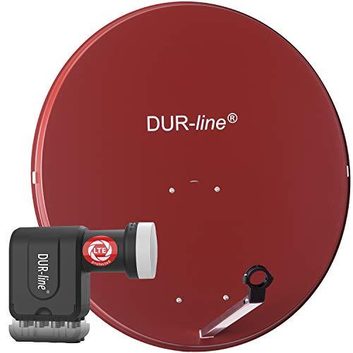 Equipo de televisión por satélite MDA DUR-line90–LNB Set