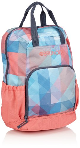 Brunotti Dames Backpack Shopper Faded Check Ombre Rugzakhandtassen, 28x41x17 cm