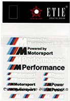 ETIE M Performance Motorsport カー デカール シール ステッカー シート セット FOR BMW