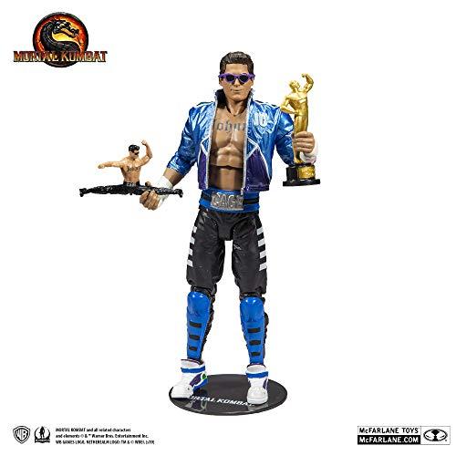 McFarlane Toys Mortal Kombat Johnny Cage Figura de acción