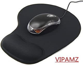 VIPAMZ Ergonomic Mousepad with Wrist Support – Protect Your Wrists and De-Clutter..
