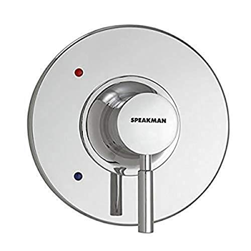 Speakman CPT-1000-TP Shower Trim, Polished Chrome Included Neo Thermostatic Pressure Balance Valve