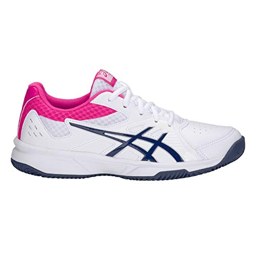 ASICS Blanco/Azul Court Slide Clay, Adultos Unisex, 37.5