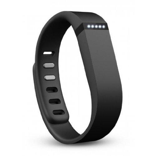 Fitbit Uhr Mess Flex Wireless-Aktivität Tracker Pulsera de Actividad física + sueño inalámbrica, Unisex, Negro, S/L