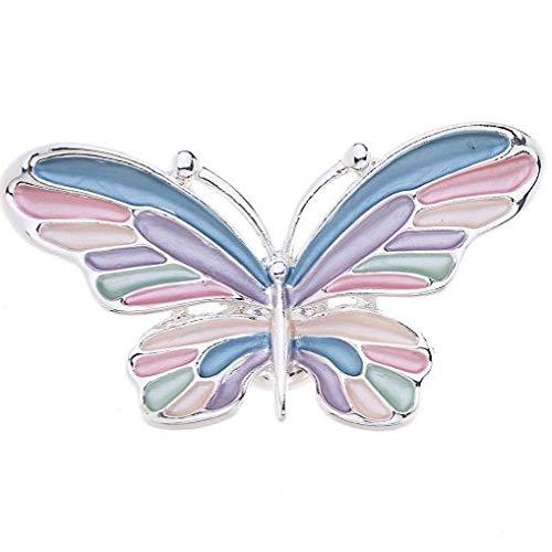 Treend24 dames magneet broche vlinder bont sjaal clip bekleding magneetbroche poncho zakken steel textiel sieraden uil hart ster