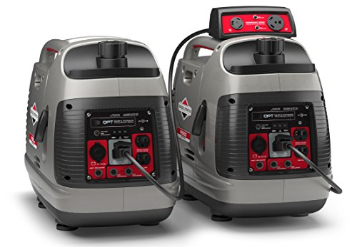 Briggs & Stratton P2200 Power Smart Series Inverter Generator with Quiet Power Technology and...
