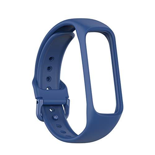 TiKiNi Ersatzgurte, kompatibel mit Samsung Galaxy Fit 2 R220 Sport Smart Armband Band Weiches Silikonband Leichter und langlebiger Fitness Tracker Mehrfarbig Optional