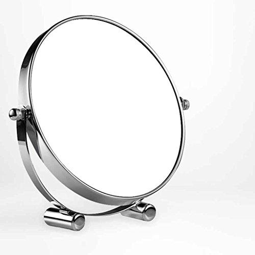 Miroirs De Bureau Dressing Double-Face Princesse Loupe Grand Portable 7/8 Pouces (Taille : Diameter 20cm)