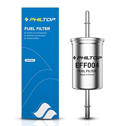 PHILTOP EFF004 (FG-1114) Fuel Filter, Replacement for F150, Focus, Ranger, F250 Super Duty, Expedition, Explorer, Freestar, Mustang Gas Filter