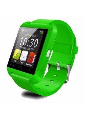 Amazingforless Bluetooth Touch Screen Smart Wrist Watch (U8 - Green)