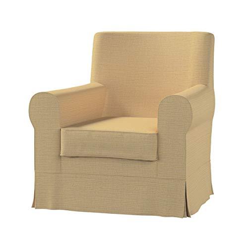 Dekoria Ektorp Jennylund Sesselbezug Sofahusse passend für IKEA Modell Ektorp Sandfarben, beige