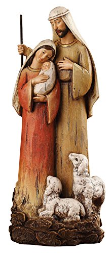 CB Gift Holy Family with Lambs Figurine  12
