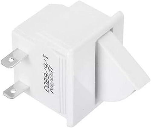 GOZAR 5A 125V 2Pin Réfrigérateur Porte Lampe Interrupteur Lampe De Rechange Réfrigérateur Pièces