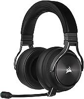 Corsair VIRTUOSO RGB WIRELESS XT Cuffie Auriculares de Alta Fidelidad para Juegos con Audio Espacial (Conexiones...