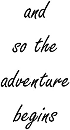"""Heartfelt Inspirations By Moana SS-HI-10000""""and So The Adventure Begins"""" Paper Wall Prints"""