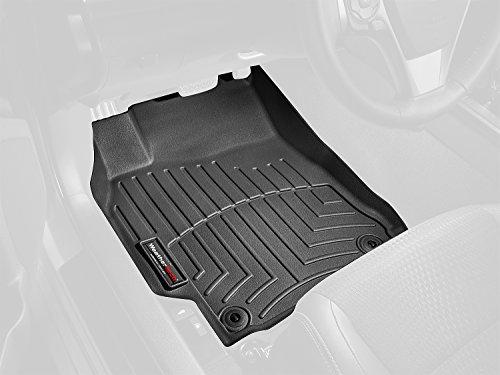 WeatherTech Custom Fit Front FloorLiner for Audi A3 (Black)