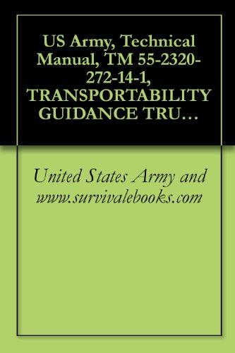 US Army, Technical Manual, TM 55-2320-272-14-1, TRANSPORTABILITY GUIDANCE TRUCKS, 5-TON, 6X6, M939-SERIES/M939A SERIES; TRUCK, CARGO, DROPSIDE, WOWN, M923, ... CARGO, WWN, M926 (NSN 2320-01-047-8772) TR