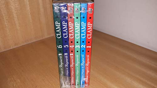 Guerreiras Mágicas de Rayearth - Coleção completa em 6 volumes !!