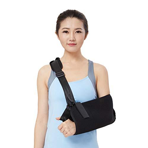 Xergou Armstütze Schultergurt Verstellbarer, atmungsaktiver, medizinischer Armschlinge Schlüsselbeinbruch Chirurgie Luxation Gebrochen,M