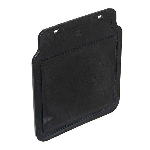 1 universal Schmutzlappen 220x200mm Schmutzfänger Spritzschutz schwarz Mud-Flap für Anhänger Neu Old-Harvest