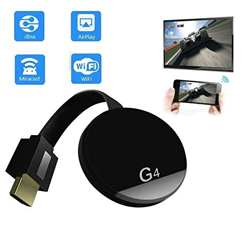 Dongle - Receptor de pantalla inalámbrico WiFi para Chromecast Dlna Miracast Airplay Push Hdmi adaptador para Android Ios TV Stick