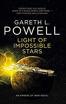 Light of Impossible Stars by Gareth L. Powell science fiction and fantasy book and audiobook reviews