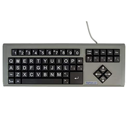 AbleNet BigKeys LX Large Print Computer Keyboard USB Wired...
