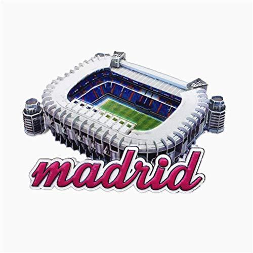 Bernabéu Real Madrid S Home Espagne souvenir 3d Aimant de ré