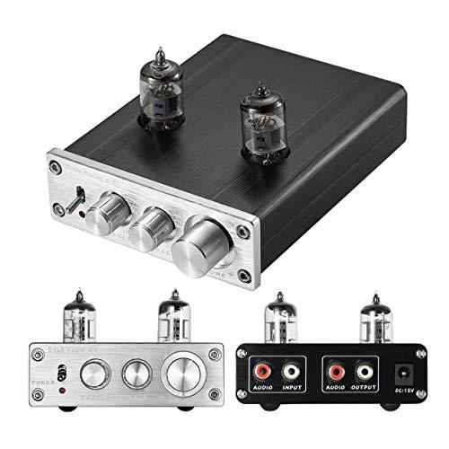 HiFi 6J1 vacuümbuis voorversterker Stereo PreAmp Digital hoge & Bass Tone Control
