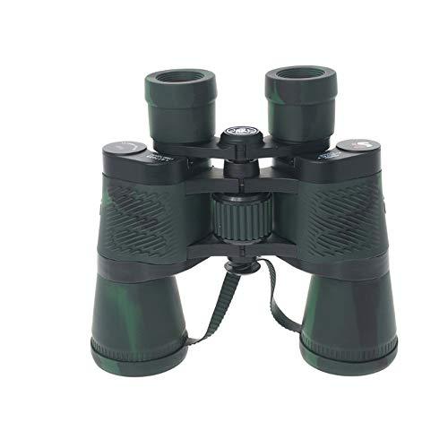 WNSS9 20 * 50 prismáticos de visión nocturna telescopio profesional con Coordinate Ranging Sin infrarrojos Caza película verde prismáticos telescopios ópticos for la observación de aves, senderismo, V