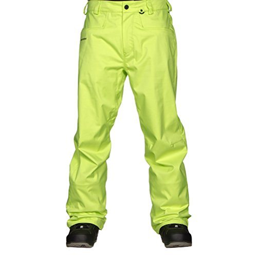 Volcom Herren Snowboardhose Carbon Pants, Tennis Ball, S
