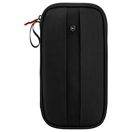 Victorinox Travel Organizer with RFID Protection Black/Black Logo One Size
