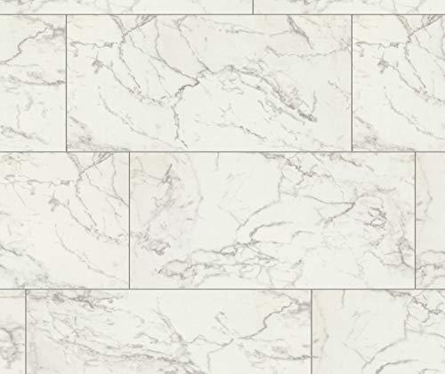 FALQUON Carrara Marble (Marmor Dekor) D2921 Hochglanz Laminat 8mm (1,996m²)