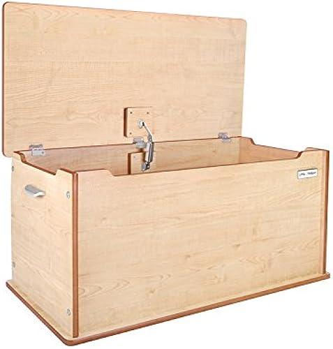 Little Helper TTY01-3 - Größe Aufbewahrungstruhe aus Holz Room Tidy, natur Rosa