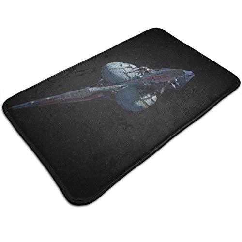D-M-L 40X60CM Bath Mat Flannel Non Slip Bath Rug Carpet Door Mat Floor Mat I S V Venture Star A